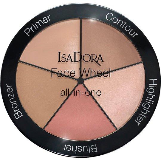 Face Wheel All-In-One, 18 g IsaDora Meikkipaletit