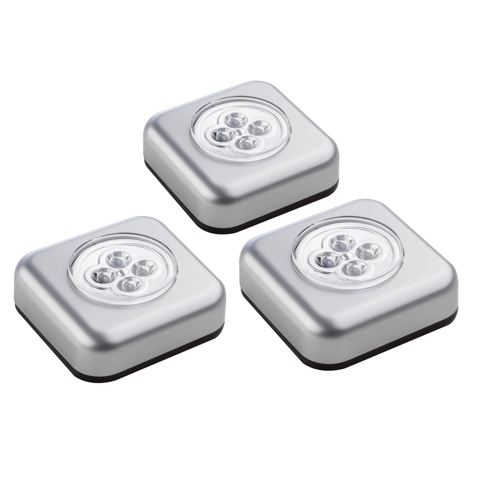 Touchlight – LED-kalustevalaisin, 3 kpl:n setti