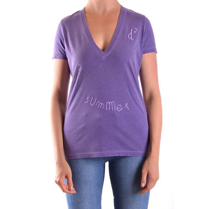 Dsquared Women's T-Shirt Purple 169769 - purple L