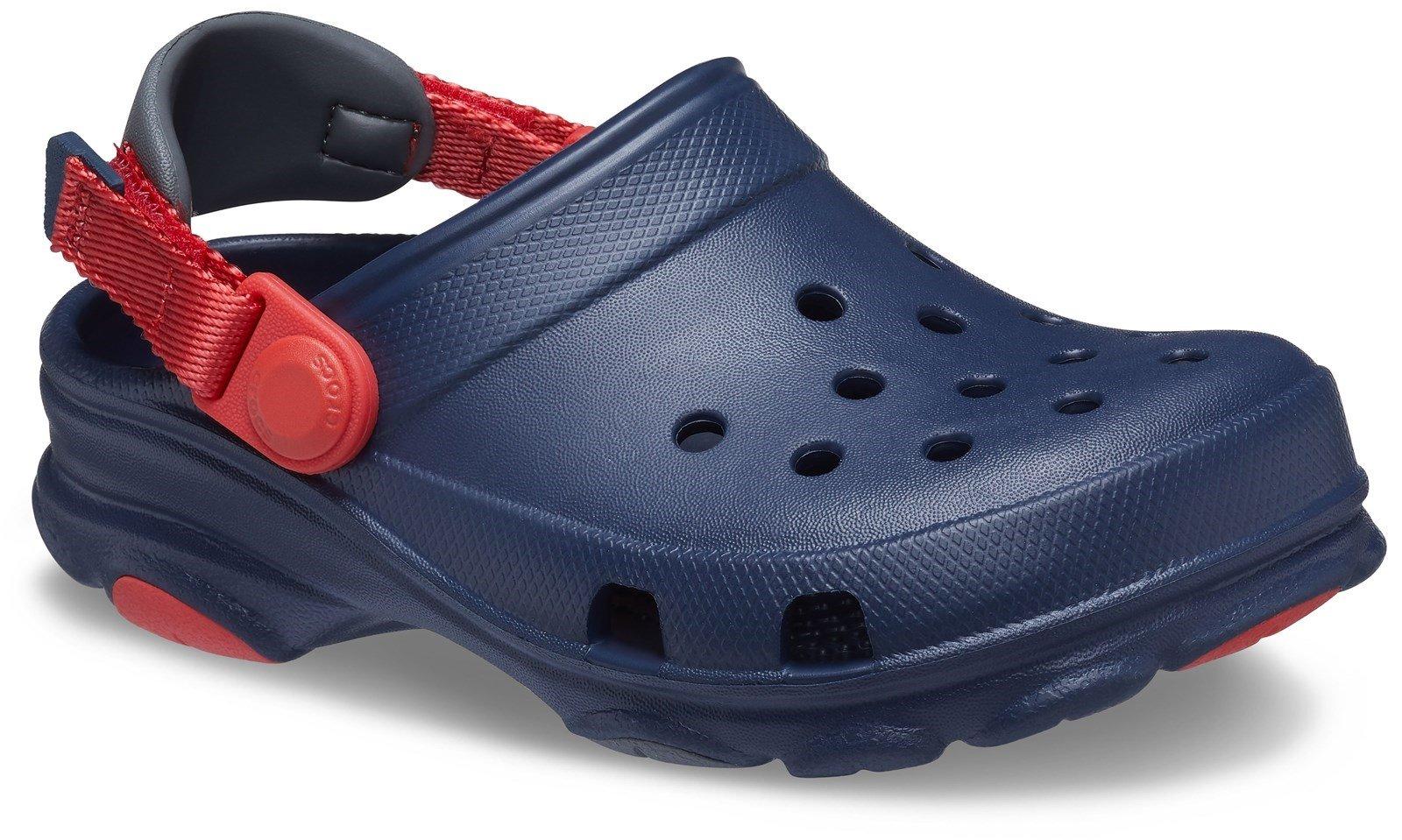 Crocs Kid's Classic All-Terrain Clog Sandal Various Colours 31874 - Navy 4