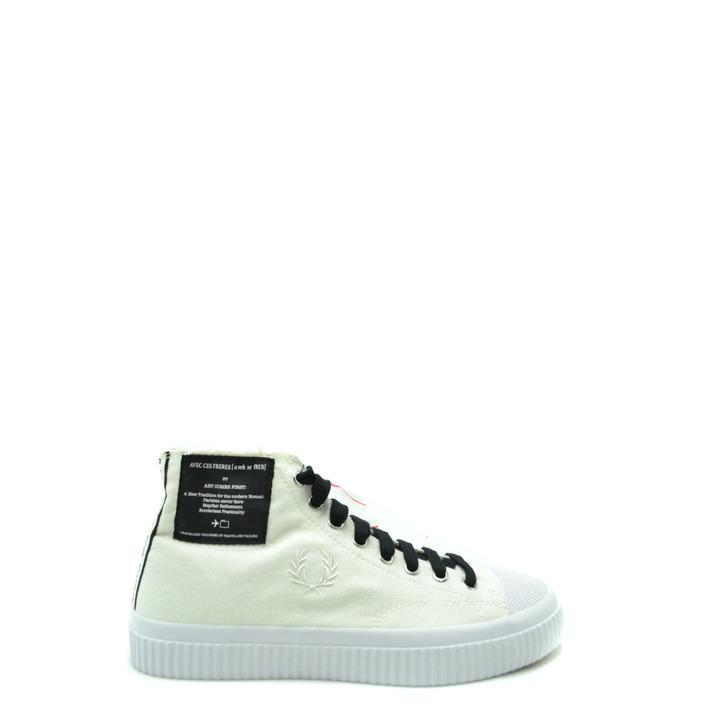 Fred Perry Men's Trainer White 179699 - white 45