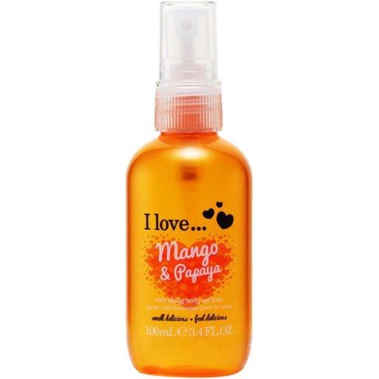 I Love... Mango & Papaya Refreshing Body Spritzer, 100 ml I love… Vartalosuihkeet