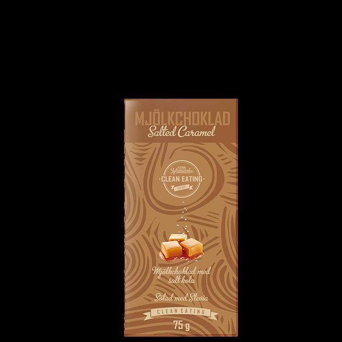 Mjölkchoklad Salted Caramel, 75 g