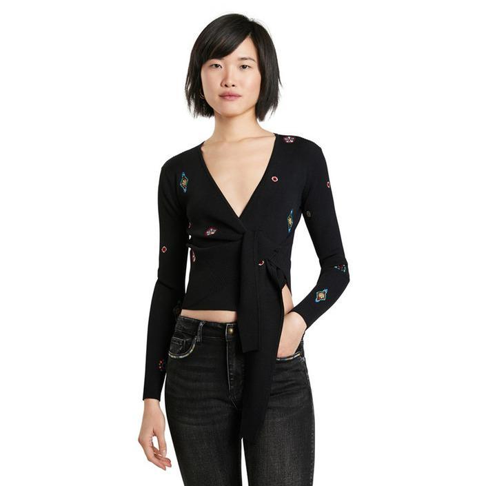 Desigual - Desigual Women Knitwear - black XS
