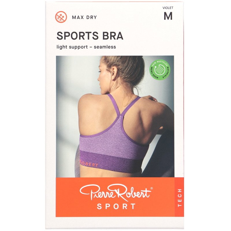 Urheiluliivi Light Support Violet Koko M - 60% alennus