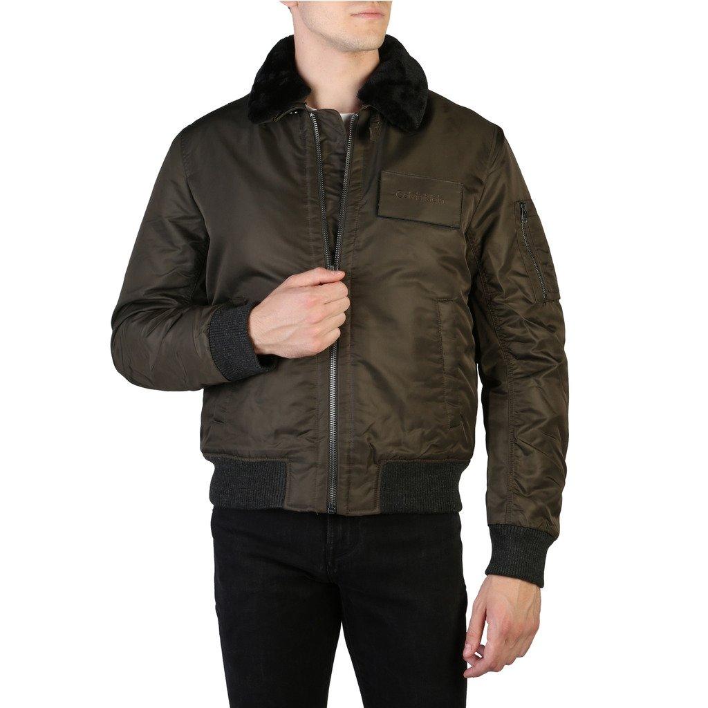 Calvin Klein Men's Jacket Brown K10K102606 - brown 52