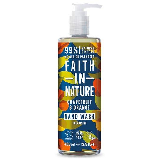 Faith in Nature Grapefruit & Orange Hand Wash, 400 ml