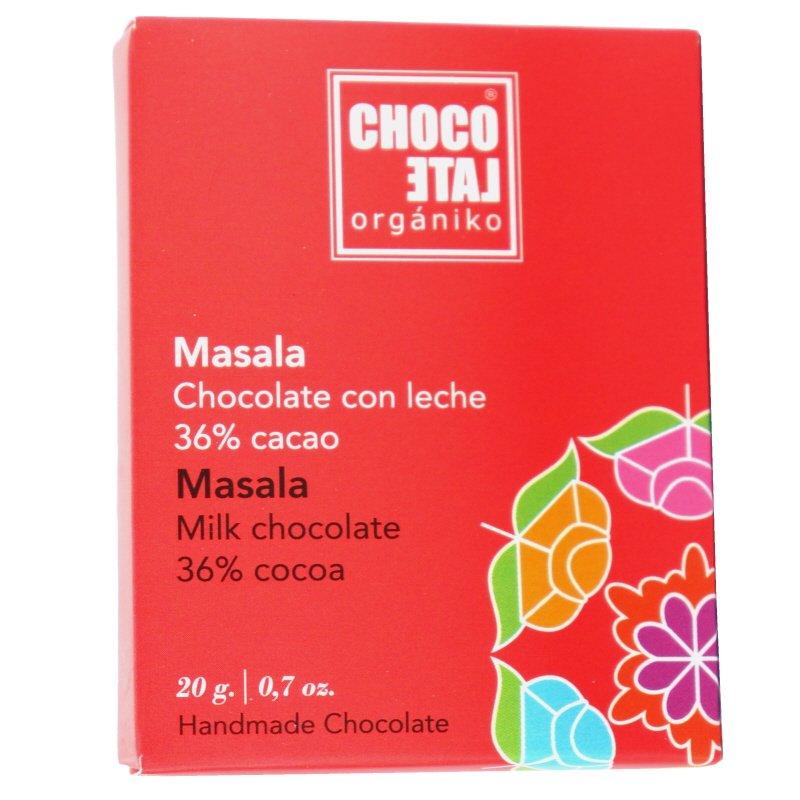 Eko Mjölkchoklad Masala - 33% rabatt