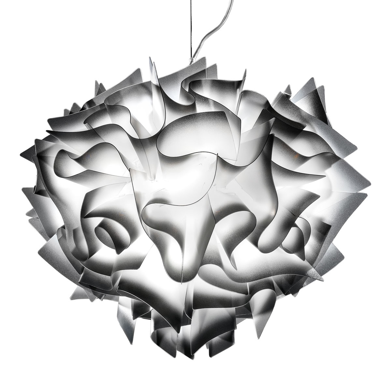 Slamp Veli -design-riippuvalo, Ø 42 cm, antras.
