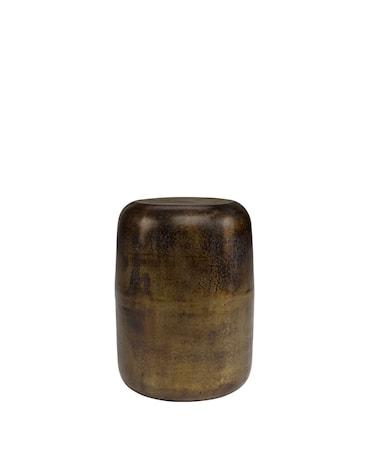 LORENZO stool / side table vintage brass