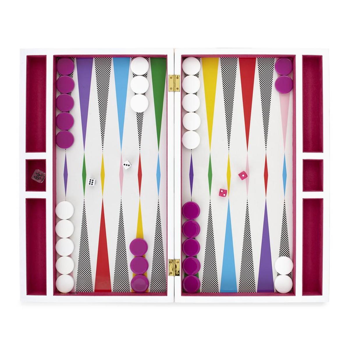 Jonathan Adler I Checkerboard Backgammon Set