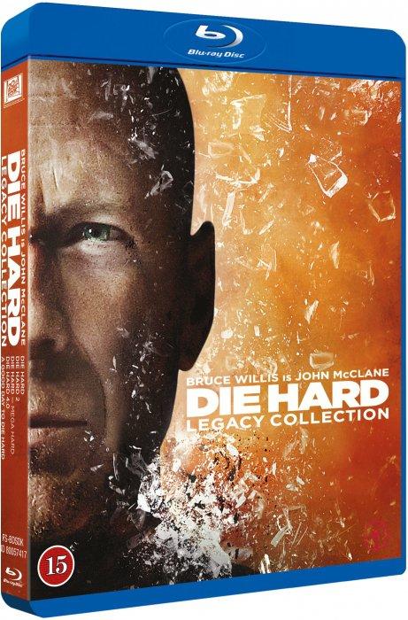 Die Hard 1-5 (5 disc)(Blu-Ray)