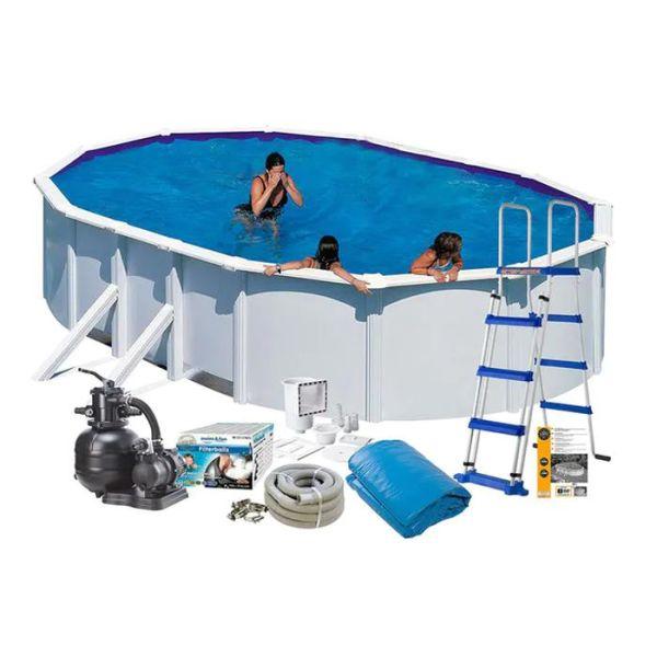Swim & Fun 2704 Allaspaketti 6,1 x 3,75 x 1,2 m, 20 893 l