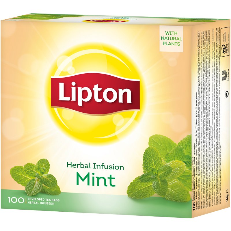 Tee, minttu 100 kpl - 25% alennus