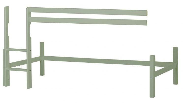 Hoppekids Parvisängyn Runko 90x200 Basic, Pale Green