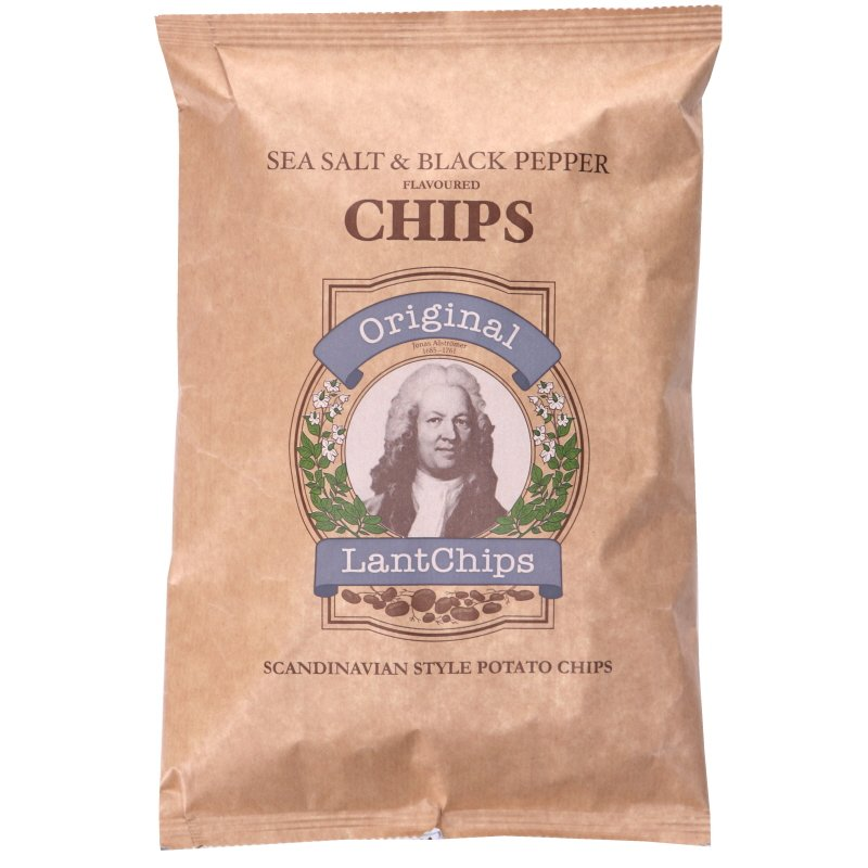 LantChips Salt & Svartpeppar - 25% rabatt