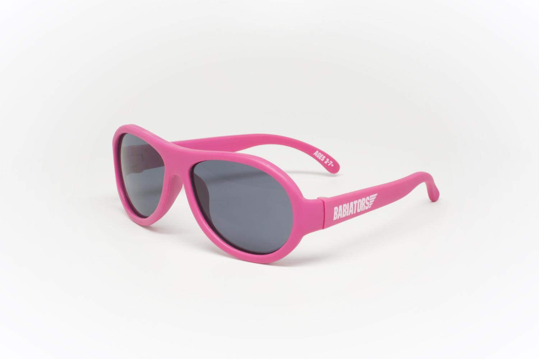 Babiators - Original Aviator - Solglasögon för barn - Popstar Pink (0-3 år)