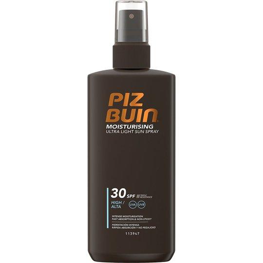 PIZ BUIN Ultra Light Hydrating Spray SPF 30, 200 ml Piz Buin Aurinkovoiteet