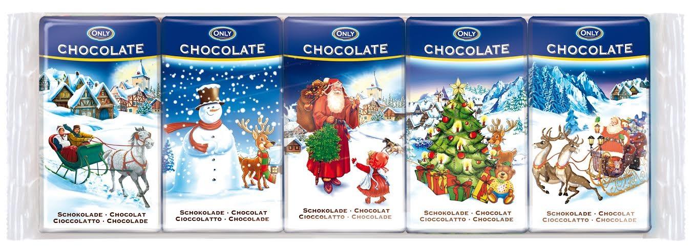Julchoklad 5-pack