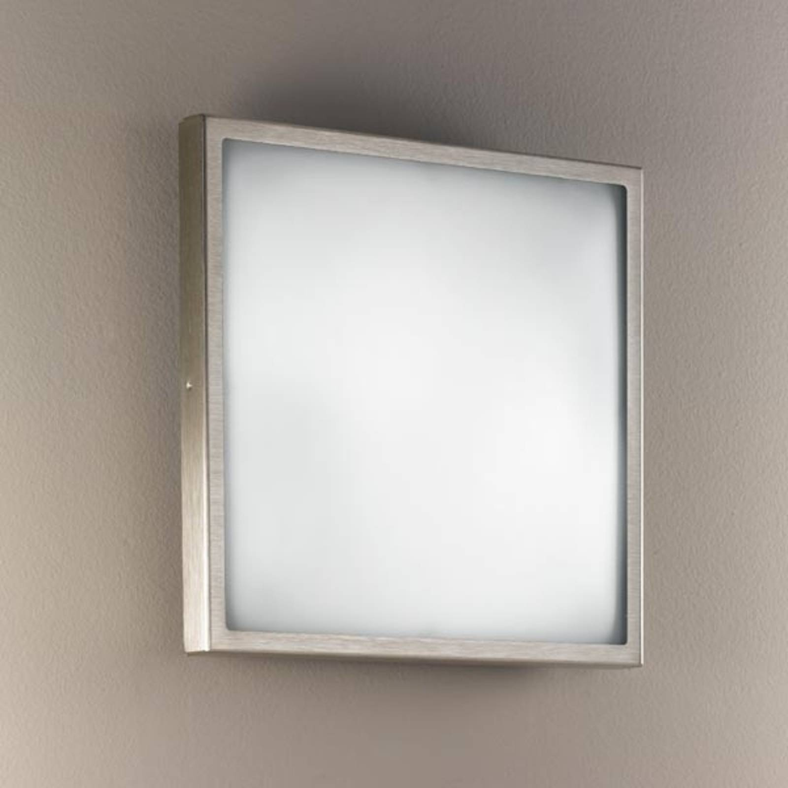 Lasinen seinä- ja kattovalaisin OSAKA 30, nikkeli