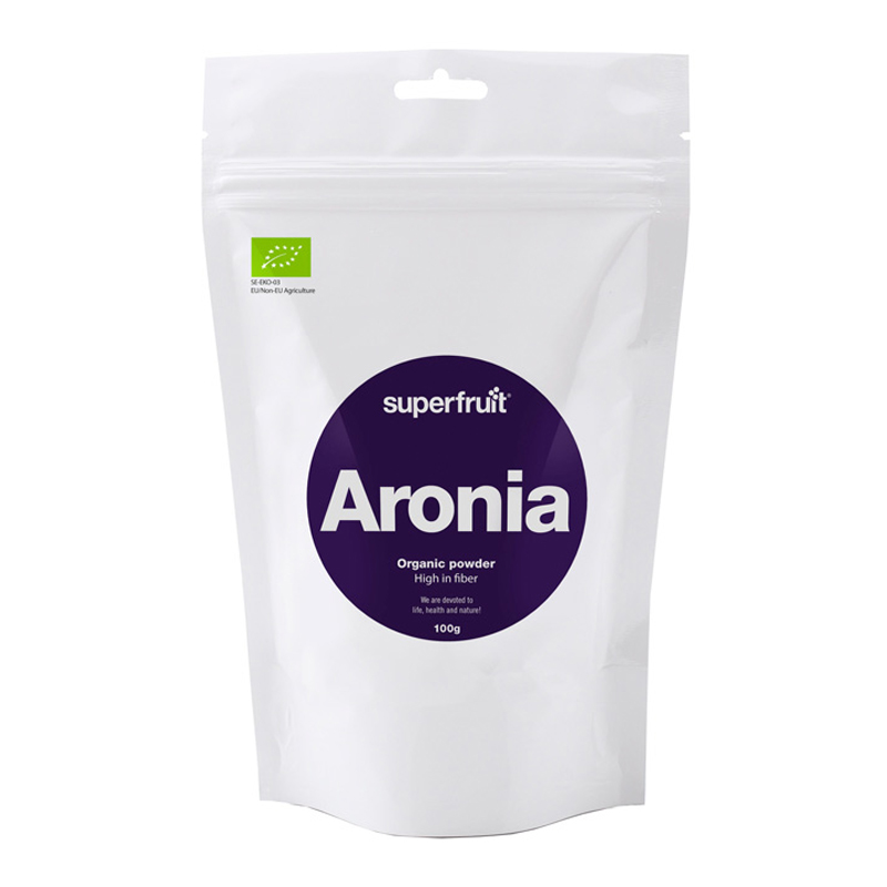 Luomu Superfruit Aroniajauhe 100g - 50% alennus