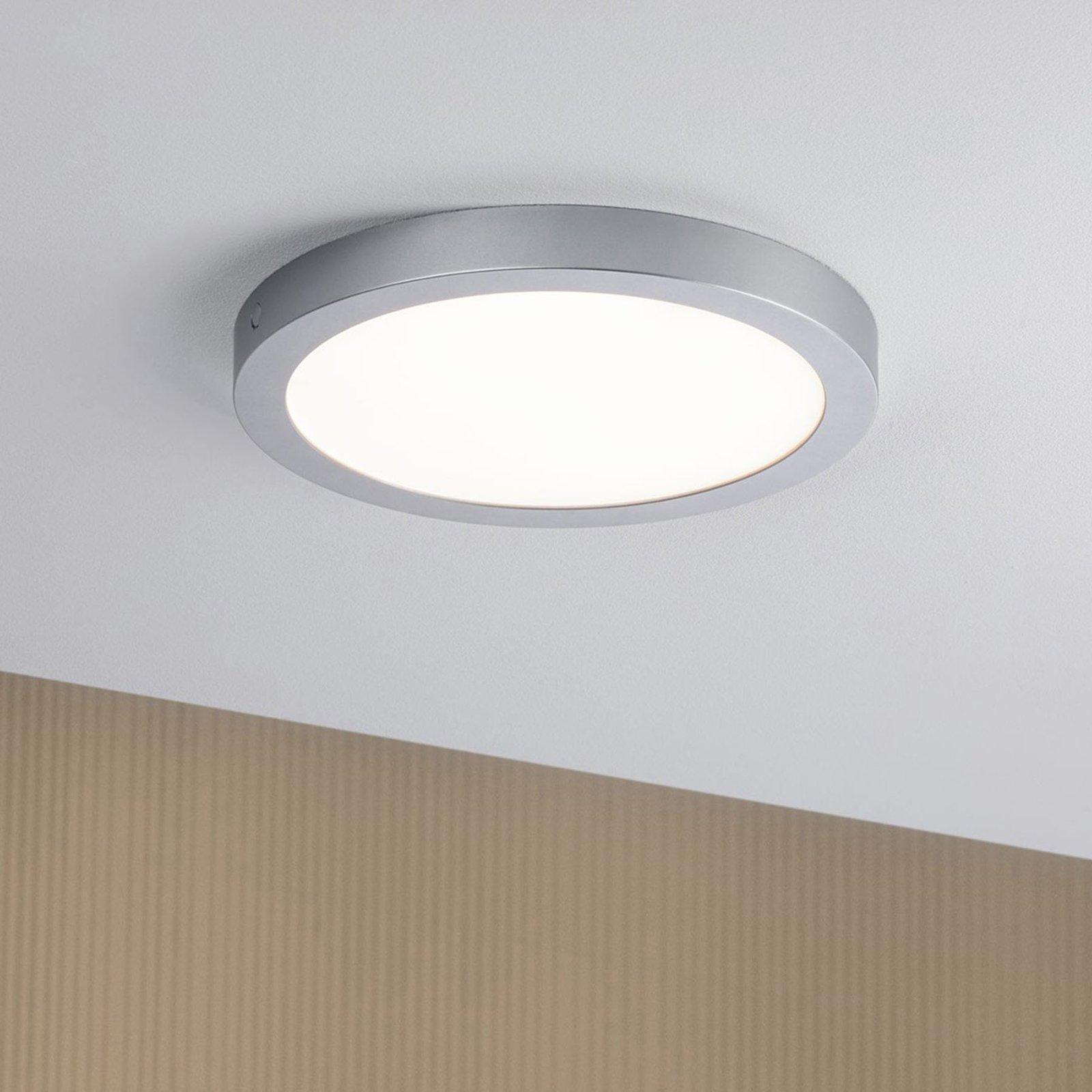 Paulmann Abia LED-taklampe Ø 30 cm krom matt