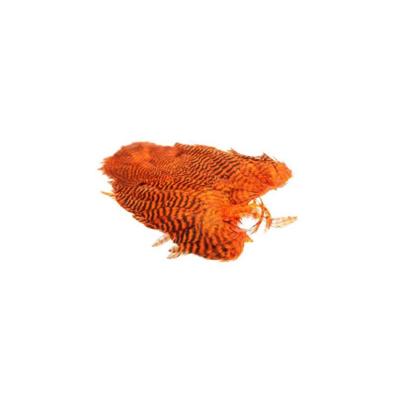 Whiting 4B Hen Soft Hackle/Chicabou Grizzly Orange