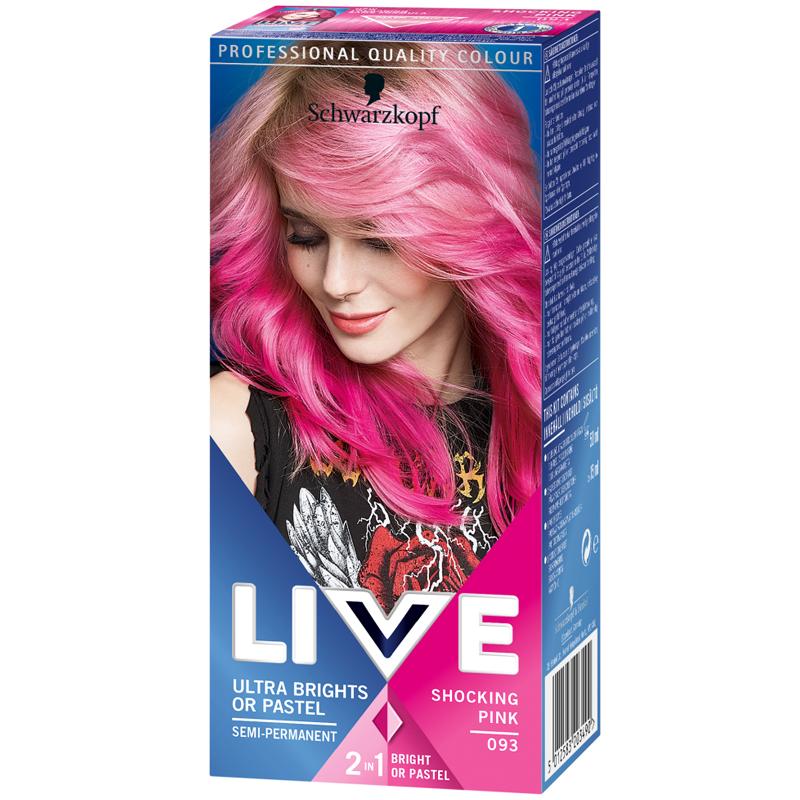 """Hårfärgningsmedel """"Shocking Pink"""" 80ml - 45% rabatt"""