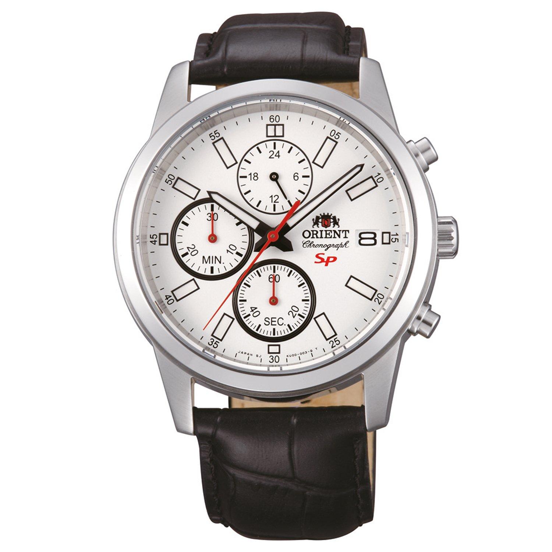 Orient Men's Watch Silver FKU00006W0