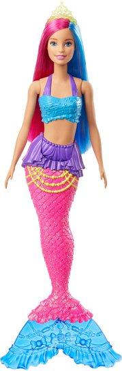 Barbie Dreamtopia Dukke Mermaid, Rosa/Blå