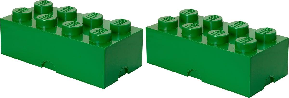 LEGO Säilytyslaatikot, Vihreä