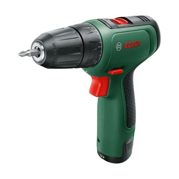 Bosch DIY Easy Drill 1200 Borskrutrekker med 2 st 1,5Ah batterier og ladere