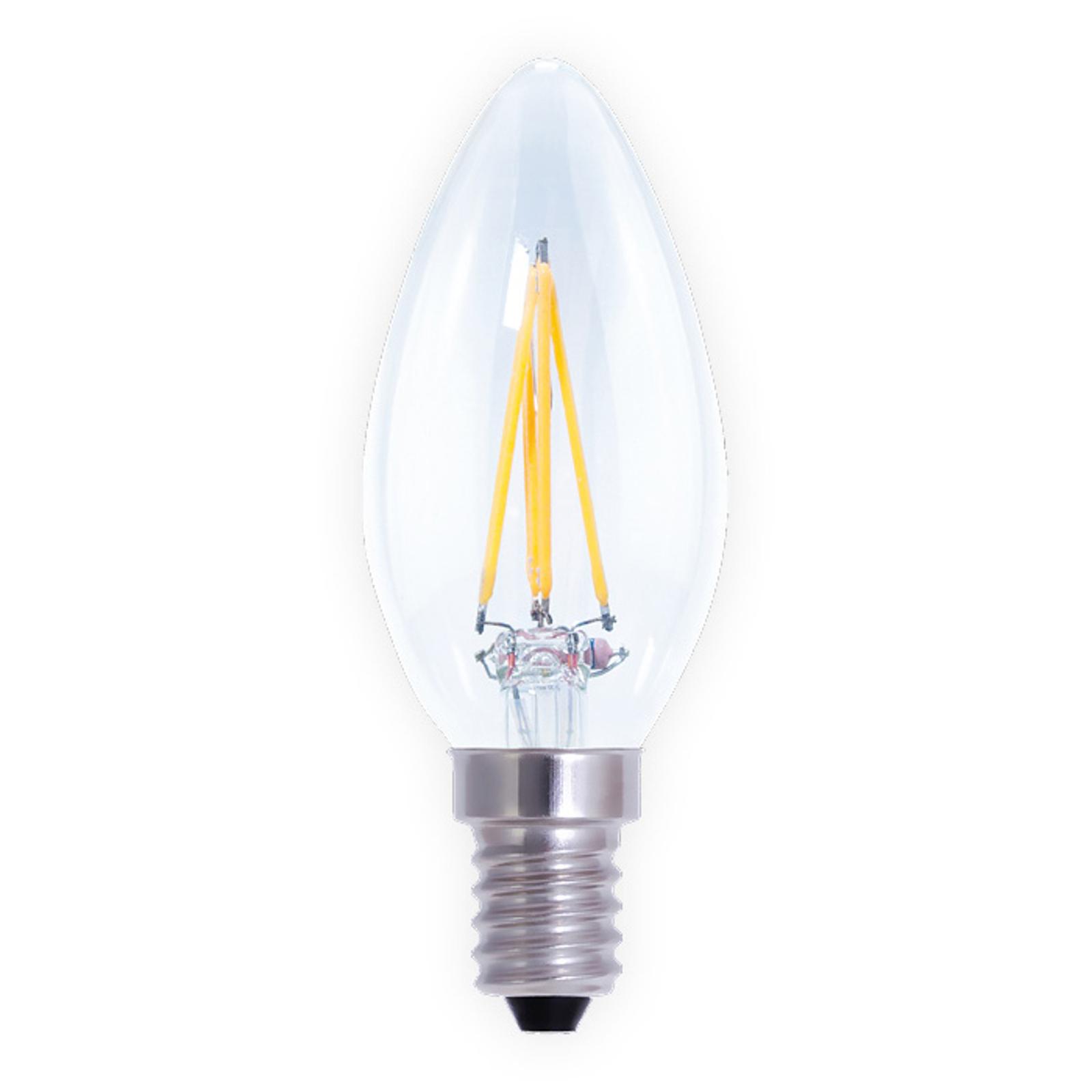LED-kynttilälamppu E14 4 W, himmennettävä