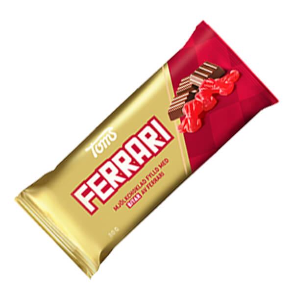 Ferrari Mjölkchoklad 80 Gr