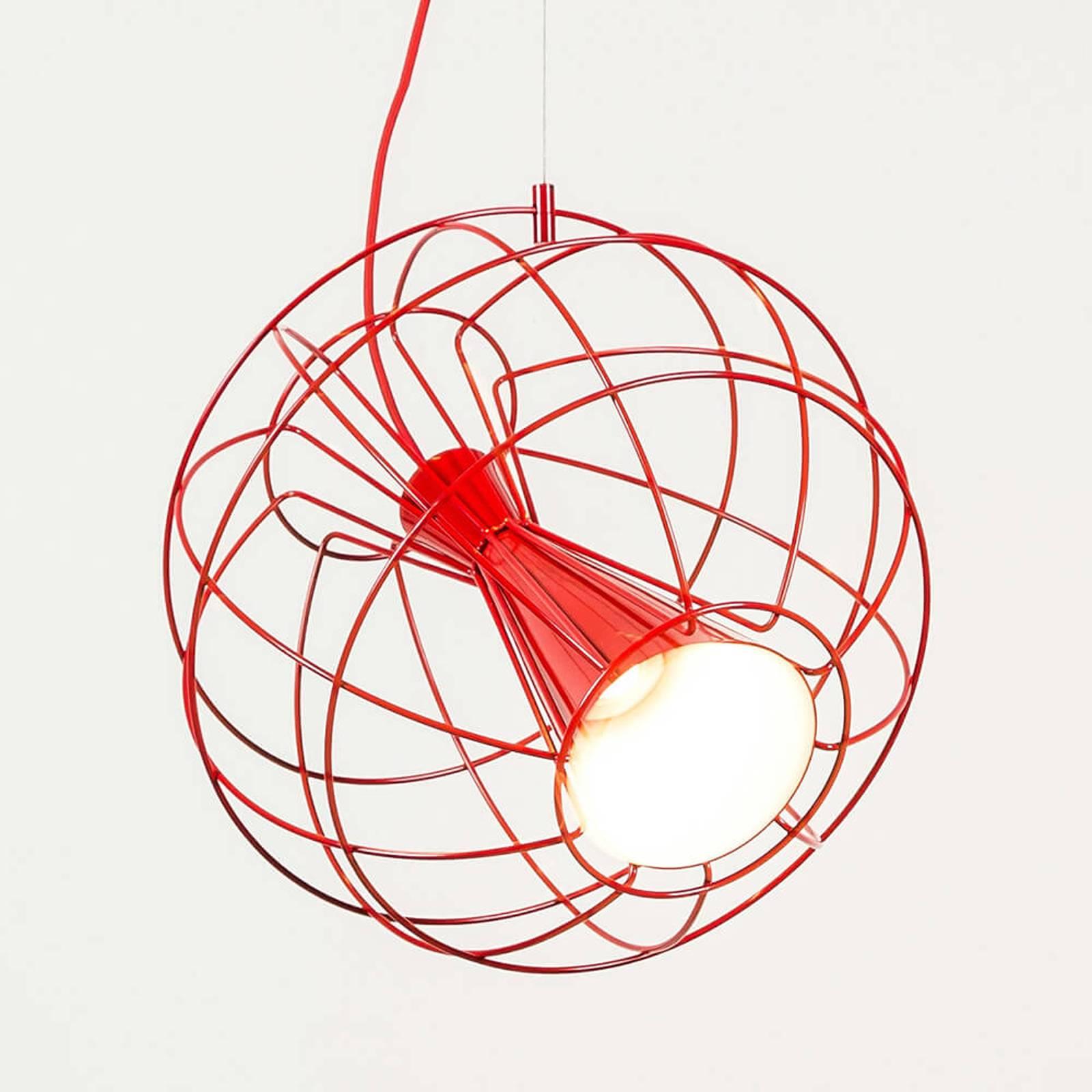 Innermost Latitude -LED-riippuvalaisin, punainen