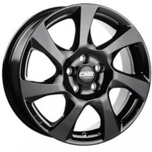 CMS C24 Gloss Black 6.5x16 5/114.3 ET45 B67.1