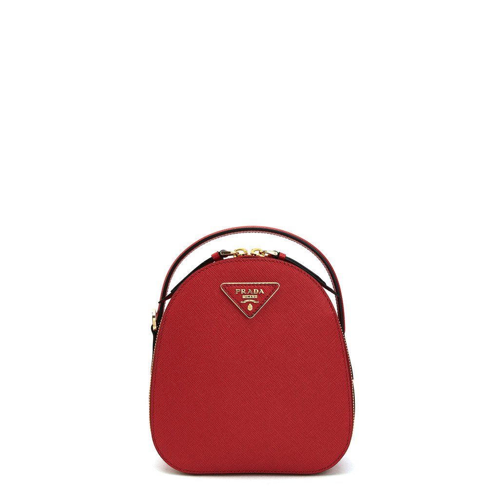 Prada Women's Backpack Various Colours 1BZ047_SAFFIANO - red NOSIZE