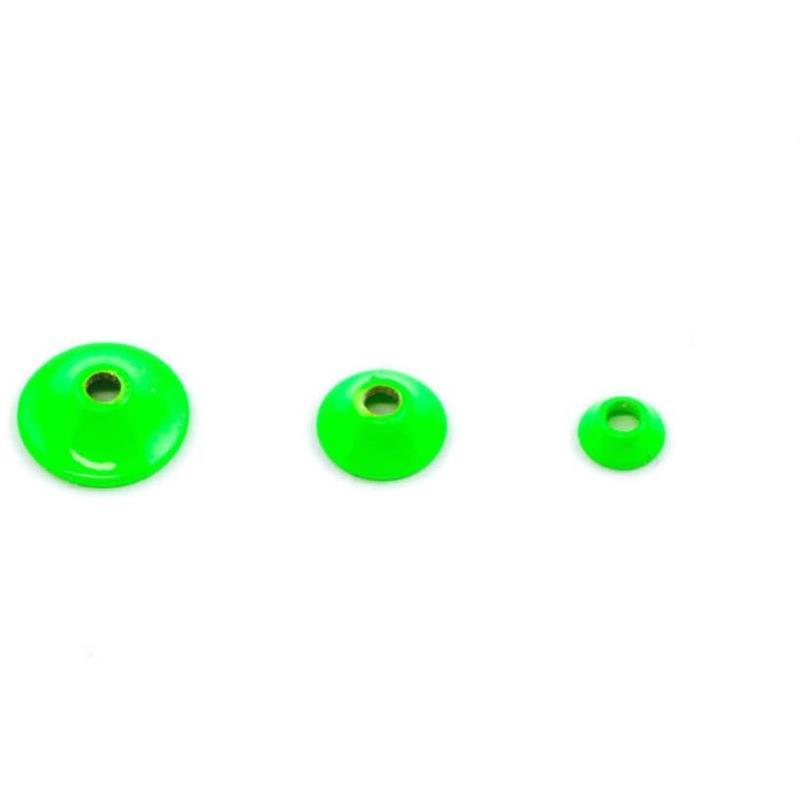 FITS Turbo Cones Fl. Chartreuse Micro Frödin Flies