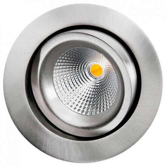 SG Armaturen Isosafe DTW Downlight-valaisin 520 lm, 220-230 V Harjattu teräs