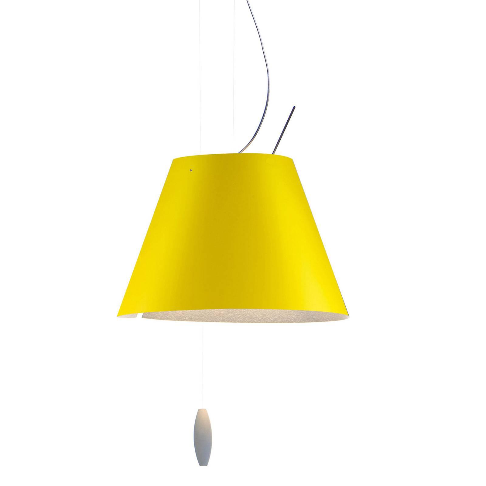 Luceplan Costanzina -riippuvalaisin, keltainen
