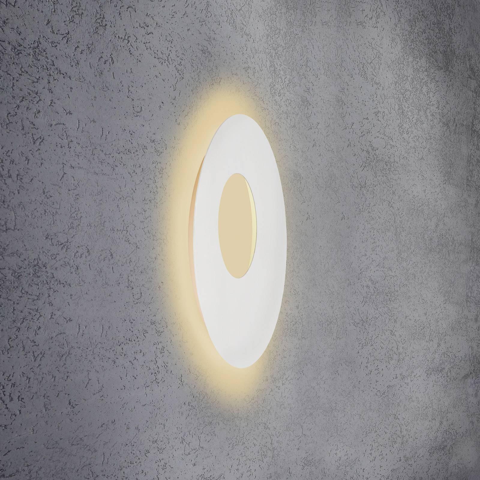 Escale Blade Open -LED-seinälamppu valkoinen Ø59cm
