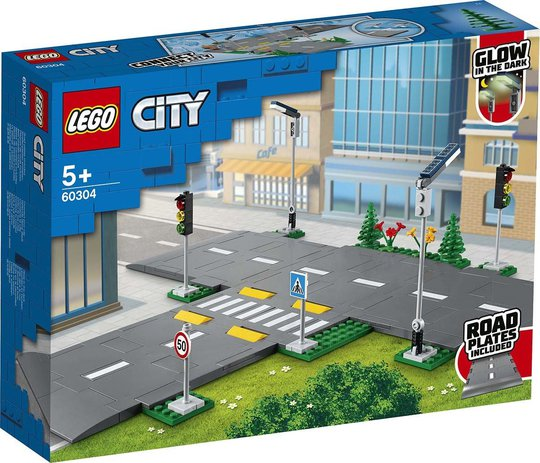 LEGO City Town 60304 Veiplater