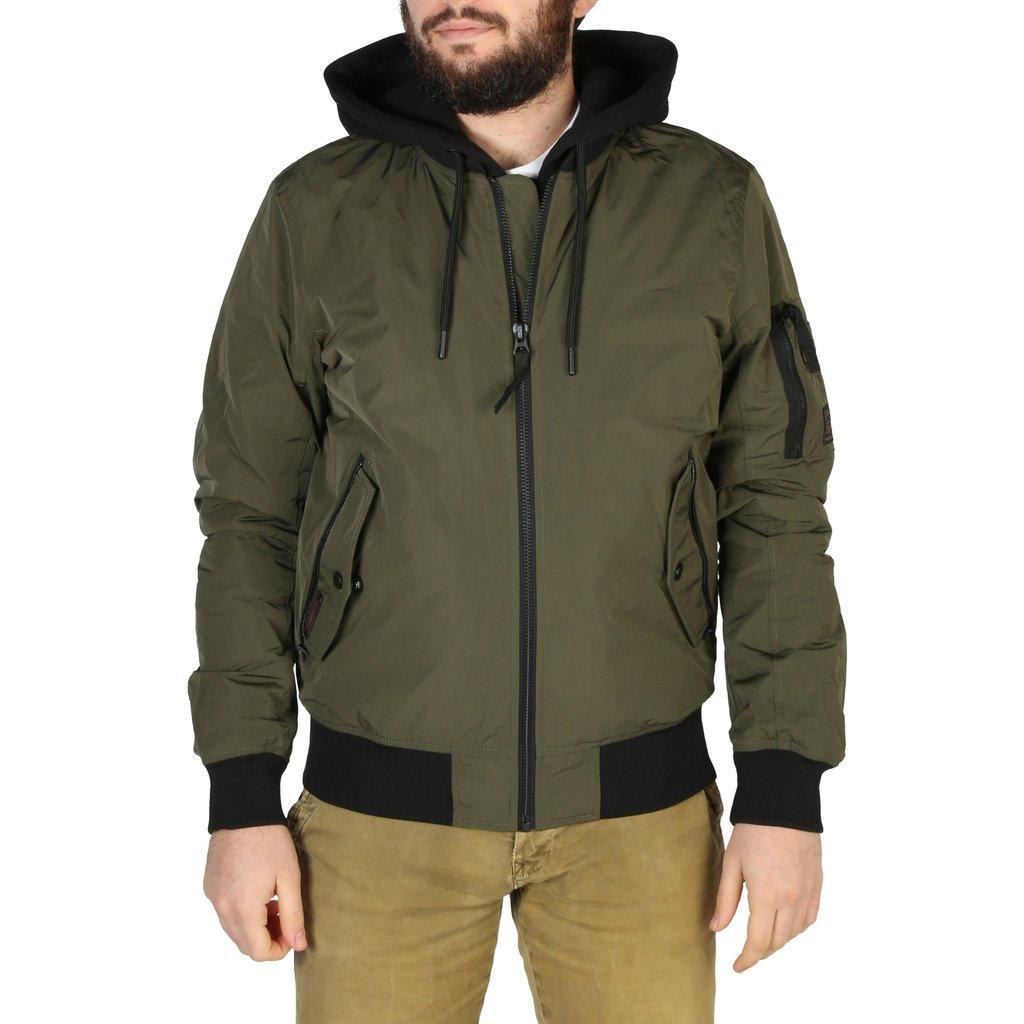 Superdry Men's Jacket Various Colours M5010143A - green S