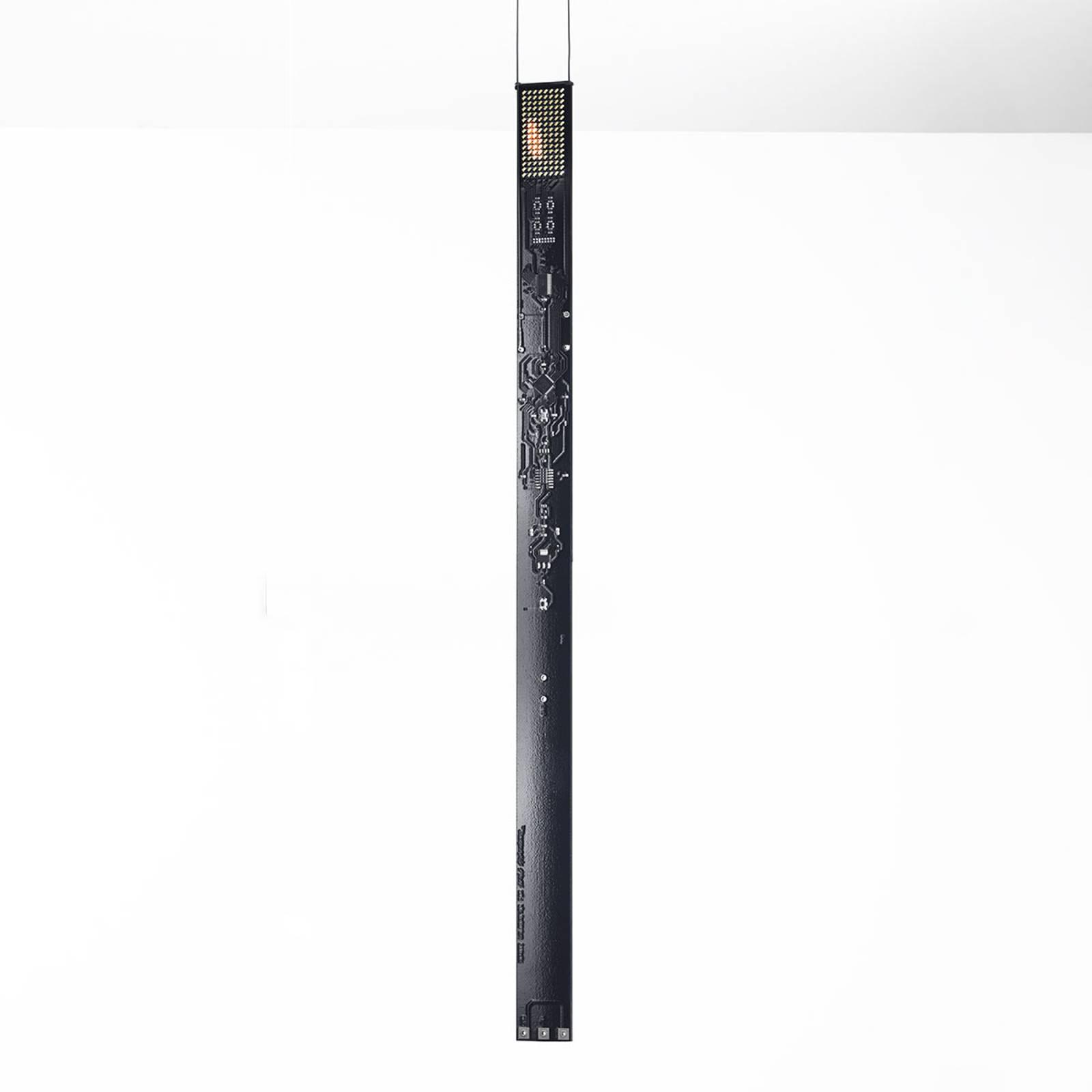 Ingo Maurer One New Flame LED-riippuvalaisin musta