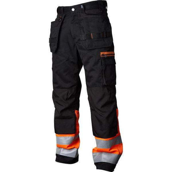 Vidar Workwear V500452C046 Håndverksbukse oransje/svart C46