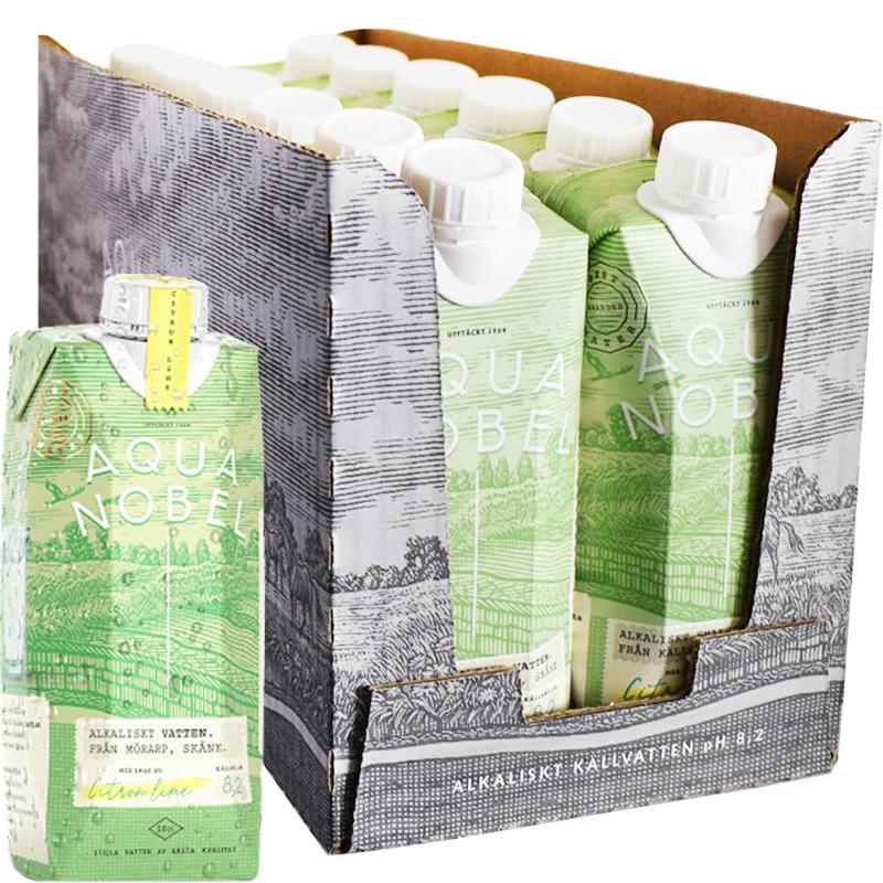 Eko Vatten Citron & Lime 12-pack - 60% rabatt