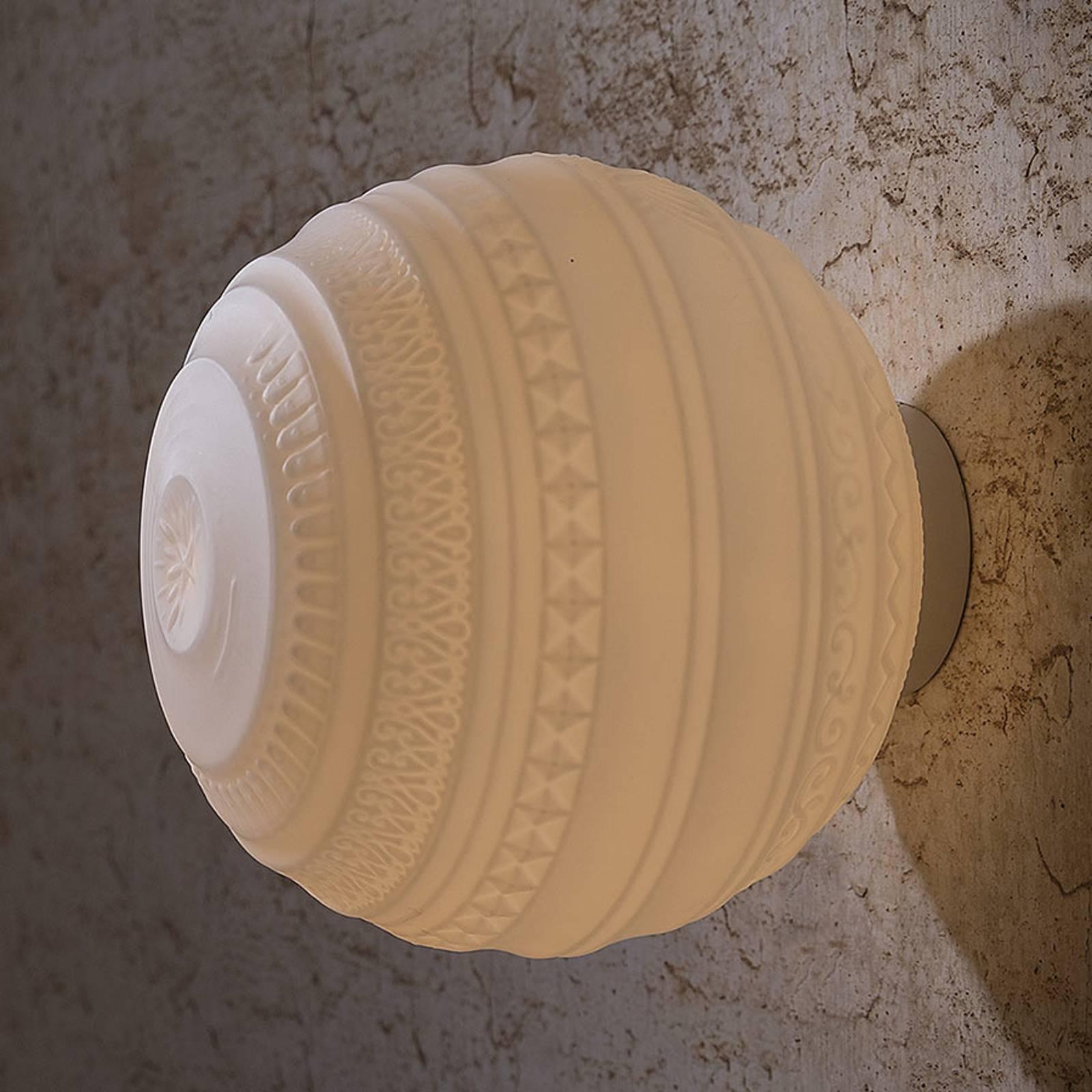 Karman Braille - design-seinävalaisin, 25 cm