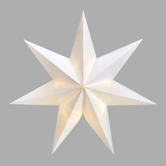 7-sakarainen LED-tähti Malva imukuppipidikkeellä