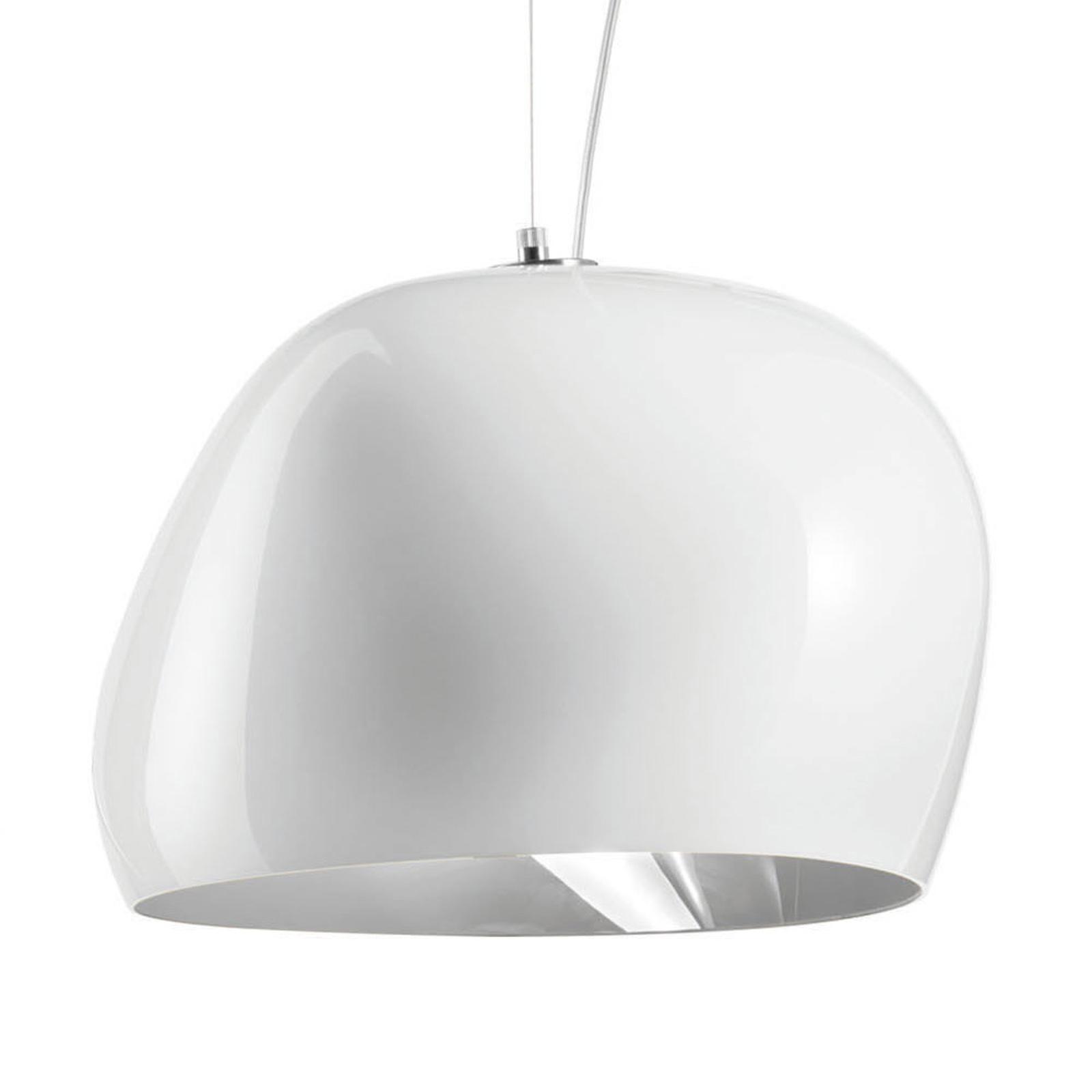 Riippuvalo Surface Ø 40 cm E27 valkoinen/harmaa