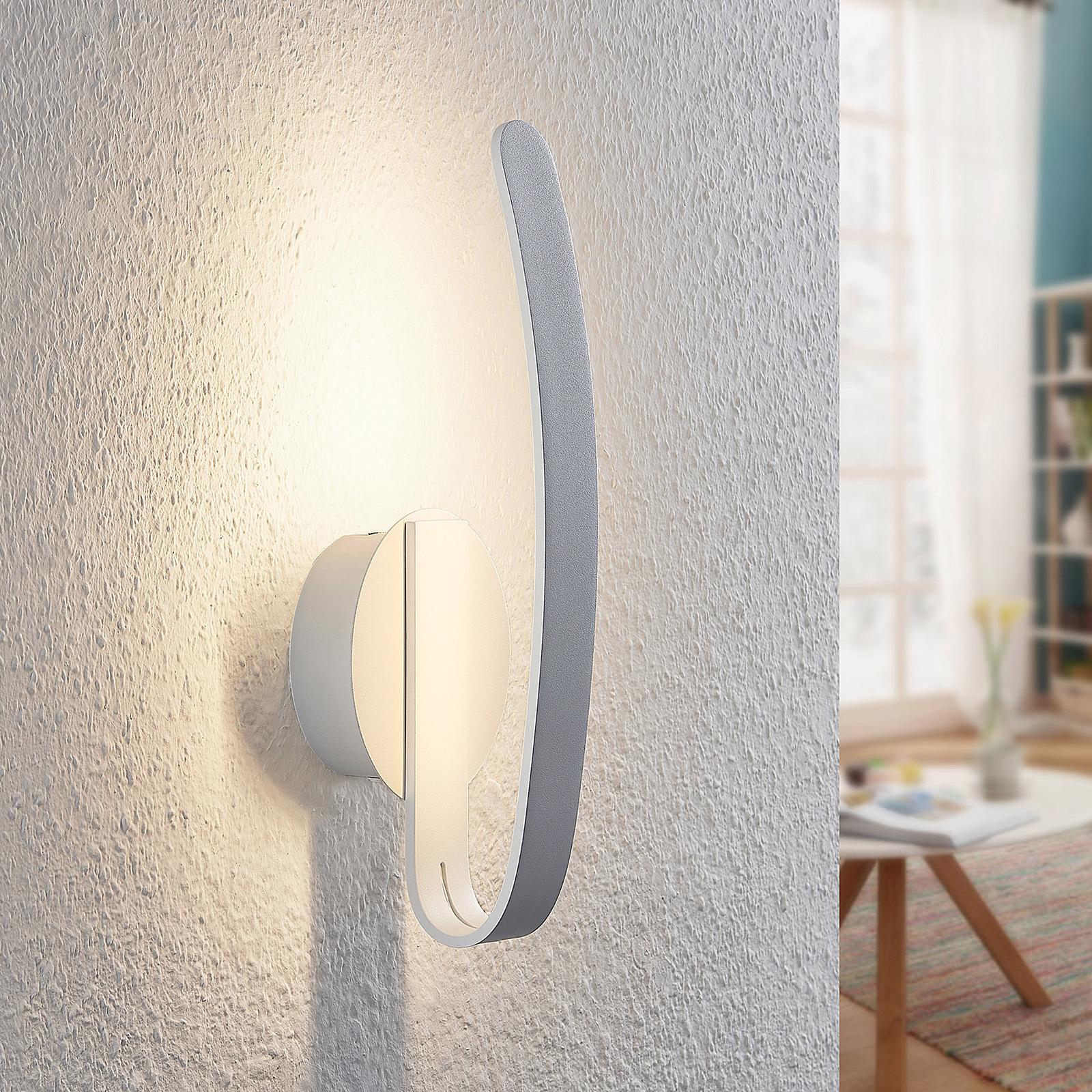 Arcchio Dzemail -LED-seinävalaisin, epäsuora
